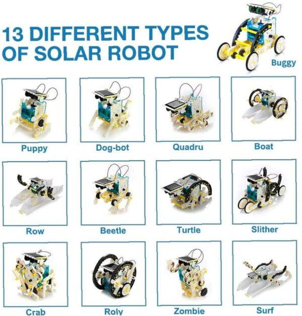 13in1 Solar Robot2